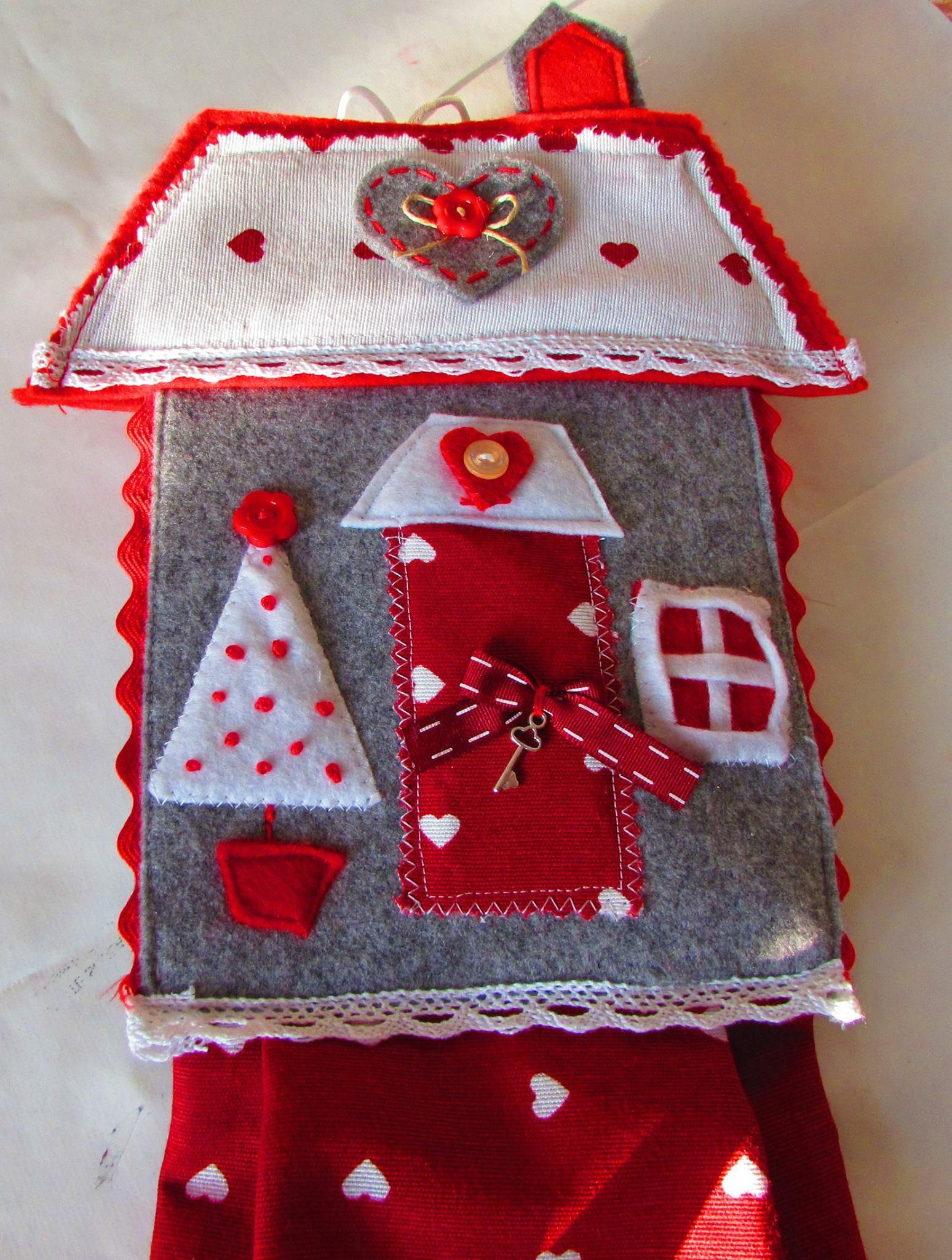 Porta sacchetti decorato - Porta sacchetti ...
